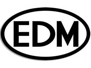 EDM Euro Electric Dance Music DJ Vinyl Decal Sticker BLACK Cars Trucks Vans Suvs Laptops Tool Box Wall Art 5.5