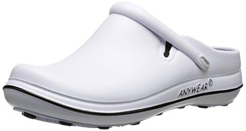 Women's Anywear Black White Alexis Shoe Work ARdnwR7qWZ