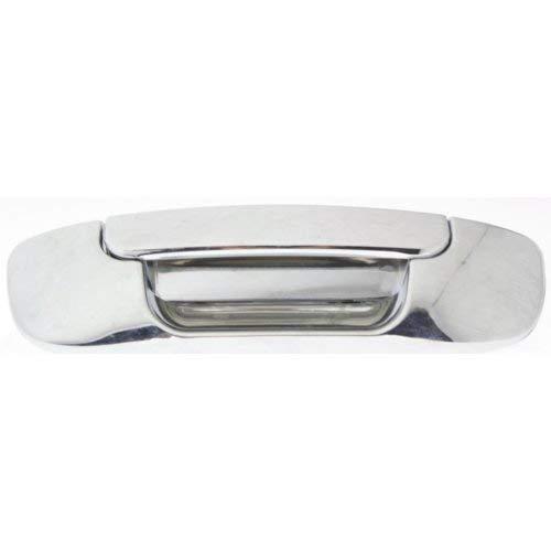 Garage-Pro Tailgate Handle for DODGE FULL SIZE P/U 1500 2002-2008/2500/3500 2003-2009 All Chrome Plastic