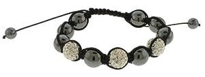 """12 Piece Wholesale Lot Fashion Jewelry """"SHAMBALLA"""" Style Bracelets 48b9360s"""