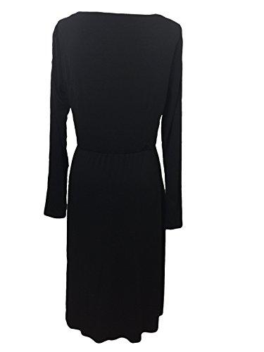 L Dress 10 in Jersey US BODEN Poppy Size Black 84qPW6AEw