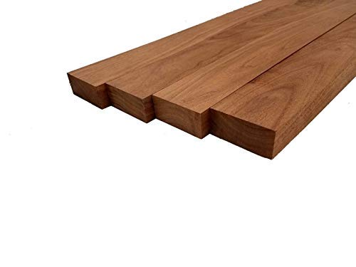 "Walnut Lumber - 3/4"" x 2"" x 12"" (4 Pcs)"