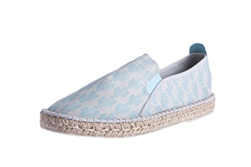 Cactus Springs Stamp Perez With Kaki Casimiro Homme Espadrilles Palm Design 710qU