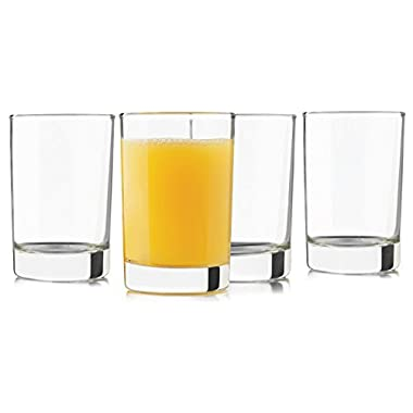 Libbey 5-Ounce Heavy Base Juice Glass, Set of 8