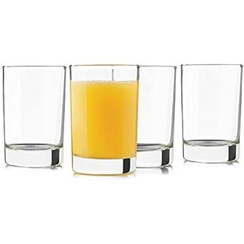 Libbey 5-Ounce Heavy Base Juice Glass, Set of 8