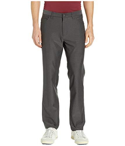 (adidas Golf Ultimate Heather 5-Pocket Pant, Black Heather,)
