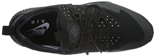 Schwarz Herren Huarache Black Low Nike Utility Air Top BTawU