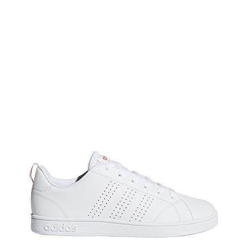 adidas VS Advantage Clean Shoes Kids', White, Size 7 (Stan Smith Sleek)