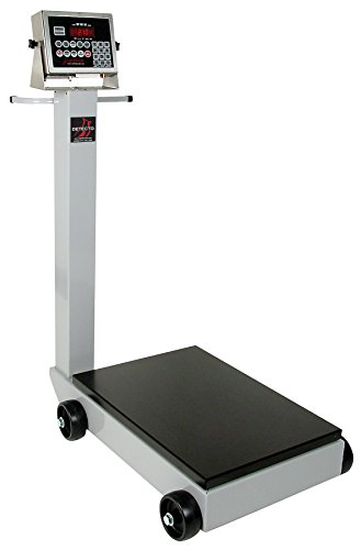 Detecto 5852F-205 Portable Digital Floor Scale, 500 lb. Capacity, 205 Indicator by Detecto (Image #1)