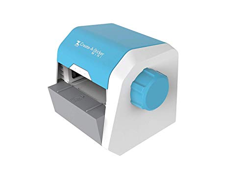Xyron Create-A-Sticker Mini 2.5' Sticker Maker with Permanent Adhesive (XRN250-CFTEN)