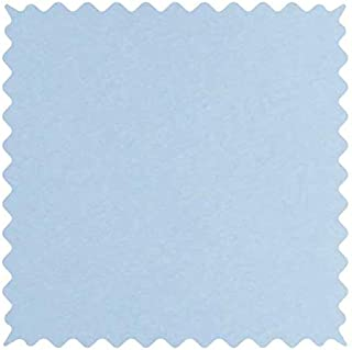 product image for SheetWorld 100% Cotton Jersey Fabric by The Yard, Organic Baby Blue, 36 x 60