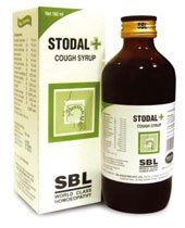 SBL Homeopathy Stodal+ Syrup for Dry Allergic Cough - -