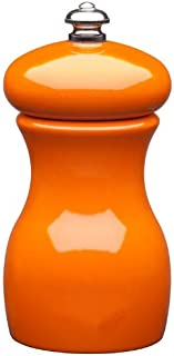 product image for Fletchers' Mill Marsala Collection Pepper Mill, Orange - 4 Inch, Adjustable Coarseness Fine to Coarse, MADE IN U.S.A.
