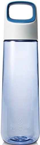 KOR Aura BPA Free Water Bottle, 750ml, Ice Blue