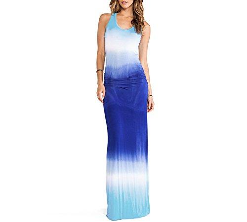 Dip Dye Maxi Dress - 7