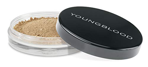 Youngblood Clean Luxury Cosmetics Natural Loose Mineral Foundation, Tawnee | Loose Face Powder Foundation Mineral Illuminating Full Coverage Oil Control Matte Lasting | Vegan, Cruelty-Free