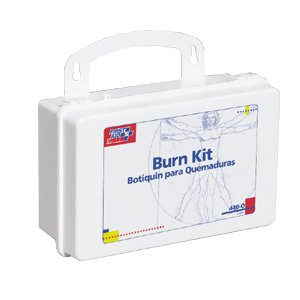 First Aid Only Burn Kit with 10 Unit Plastic Case Kit 10 Unit