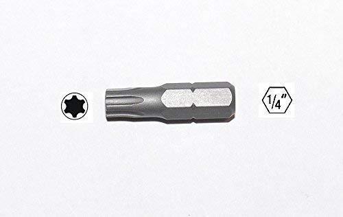 1 Bit Torx Plus T5-T40, Caña 6,35mm, 25mm Largo,S2-Stahl, Torxbit ...