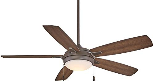 Cheap Minka-Aire F534L-ORB, Lun-Aire 54″ LED Ceiling Fan, Oil Rubbed Bronze Finish with Dark Pine Blades