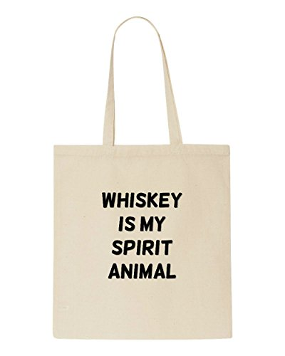 Statement Themed Shopper Beige Spirit Bag Animal Whiskey Is Tote My Alcohol WgFqn7Yz