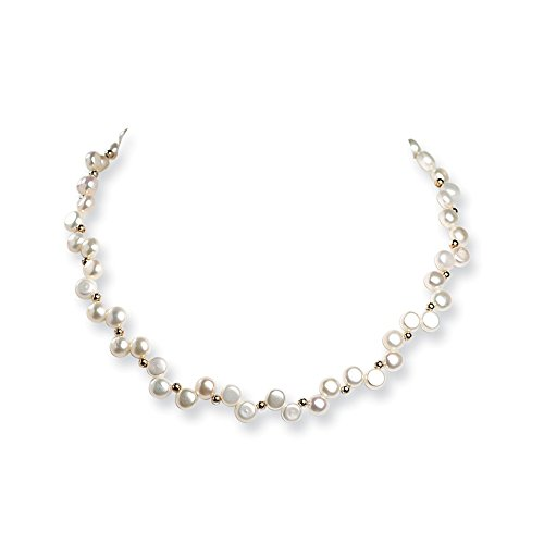 925 Sterling Silver Freshwater Cultured Button Pearl 16 Inch Chain Necklace Pendant Charm Fine Jewelry Gifts For Women For Her