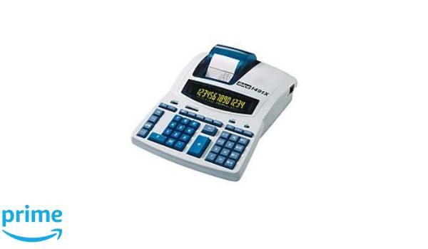 Ibico - calculadora impresora 14 digitos pantalla 2 colores ...