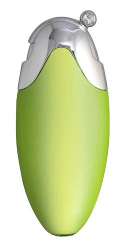 Swarovski Crystal Apple - Caseti Hollywood Gradient Matte Apple Green Travel Perfume Atomizer with Swarovski Crystals