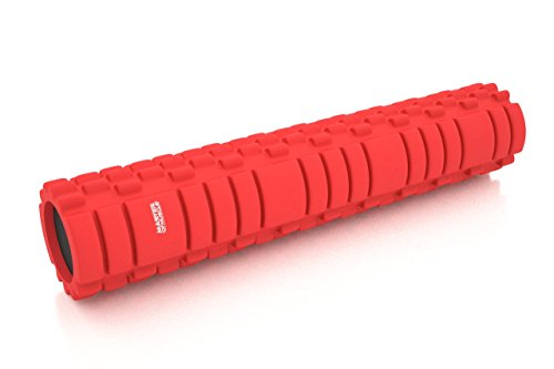 Master of Muscle Unisex Foam Roller for Revolutionary Muscle Massage for Physical Therapy & Exercise 24 by 5- - Singapore Paragon