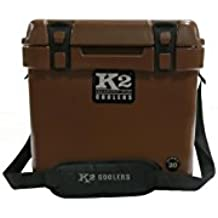 K2 Coolers Summit 20 Ducks Logo Unlimited Edition Cooler, Mud Brown