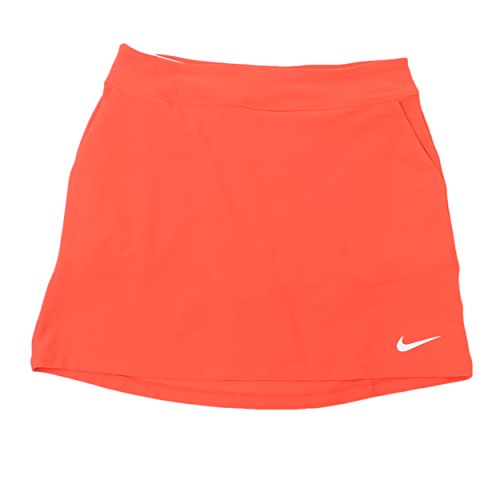 NIKE Women's Tournament Golf Knit Skort (S, Light Crimson) - Womens Tournament Polo Golf Shirt