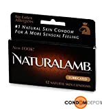 Trojan NaturaLamb Condoms - Quantity - Box of 36