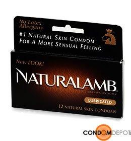 Trojan NaturaLamb Condoms - Quantity - Box of 36 by Trojan Condoms
