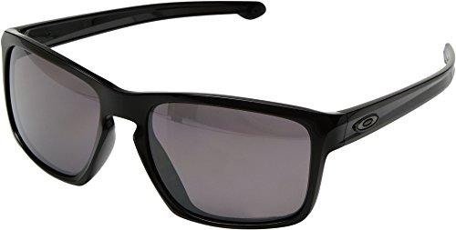 Oakley Men's Sliver OO9269-05 Rectangular Sunglasses, Polished Black, 57 - Oakley 5 Sunglasses