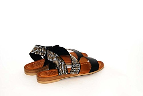 Sandali donna in pelle per l'estate scarpe RIPA shoes made in Italy - 09-90601