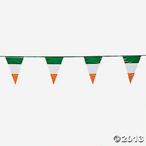 Irish Flag Pennant Banner (Irish Flag Bunting)