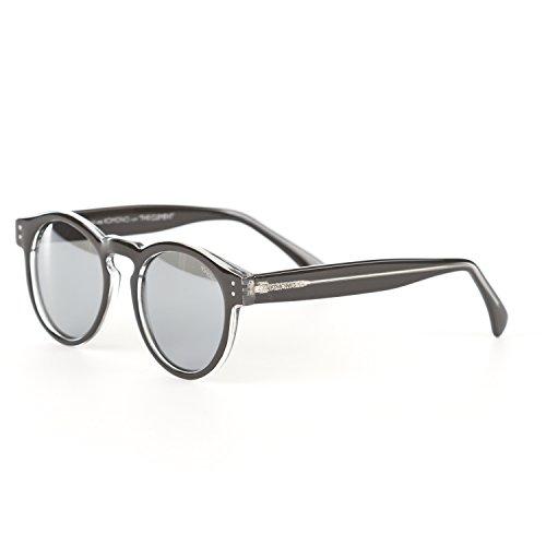 Komono Sunglasses - Clement - Black/Transparent