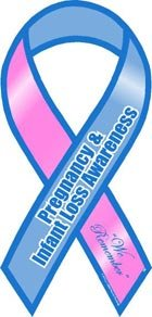 - Pregnancy and Infant Loss Awareness Ribbon Magnet