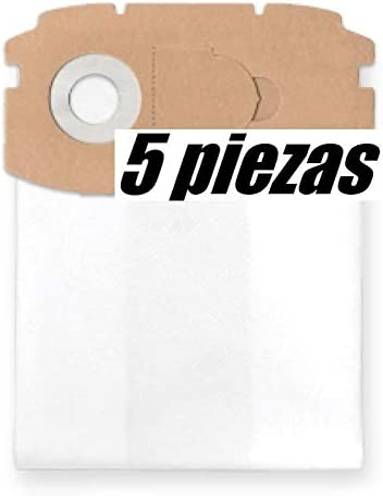 5x bolsas para aspirador tejido Festool CTL MINI