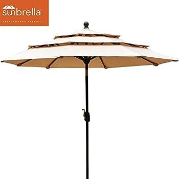 Amazon Com Eliteshade Sunbrella 9ft 3 Tiers Market