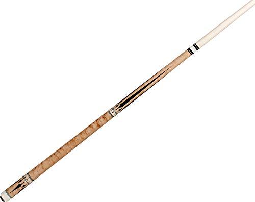 (J. Pechauer JP20-Q Natrutal Maple w/Ebony & Pearl Pool/Billiards Cue Stick)