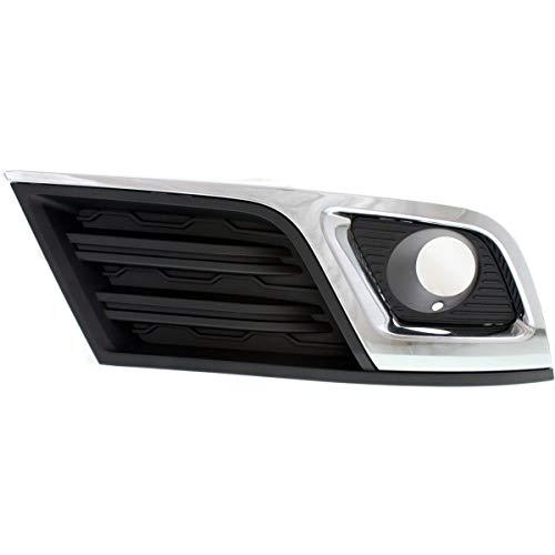 New Fog Light Trim Driving Lamp Passenger Right Side Chevy RH Hand GM1039148 (Fog Lamp Trim)