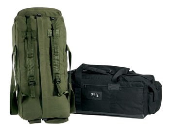 Rothco Canvas Mossad Duffle Bag, Olive Drab