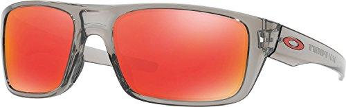Oakley Men's Drop Point Non-Polarized Iridium Rectangular Sunglasses, Grey Ink, 60 - Women's Oakley Lifestyle Sunglasses
