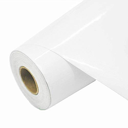 Pearl White Contact Paper,Peel-Stick Film,Vinyl Self Adhesive Counter Top 24in x 6.56ft.