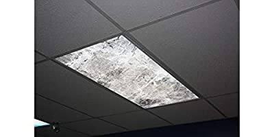 Skypanels Classic Marble Replacement Fluorescent Light Diffuser