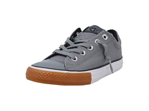 Converse Street Slip Boys Fashion-Sneakers 661910F_4.5 - Grey from Converse