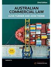 Australian Commercial Law 33rd Edition