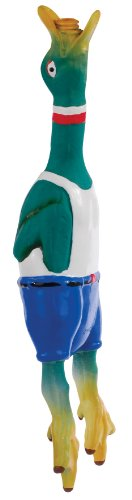 Knight Pet Latex Duck with sound Dog Toy