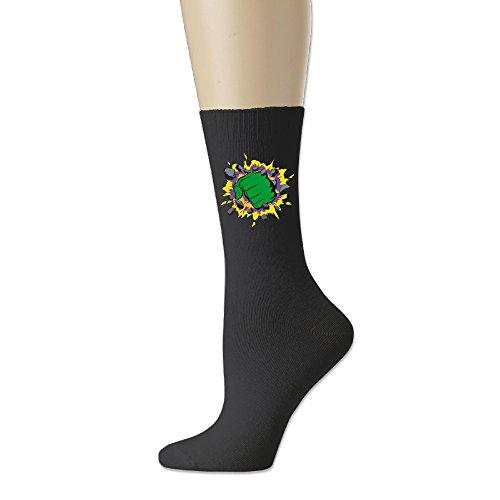 MAYOYIAII Hulk Cotton Crew Socks/Athletic Socks For Unisex (Hulk Custome)