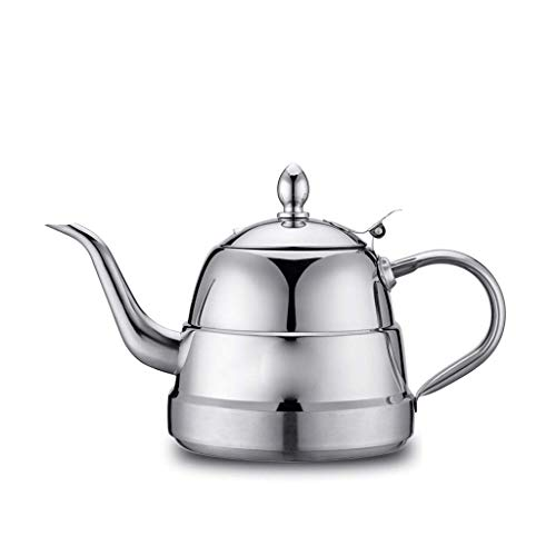 Shaped Bottom Bump Ring Classic 1.2 Thick Stainless Steel Pot Electromagnetic Kettle Tea Set Kettle Flat Teapot